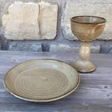 communion plates communion plate and chalice set handmade pottery communion