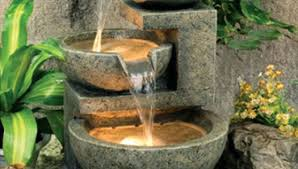 Water Fountain For Backyard - outdoor water fountains features garden pots statues wind chimes
