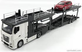 mercedes truck 2016 burago bu31459 31456 scale 1 43 mercedes benz actros 2 2545