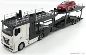 mercedes truck white burago bu31459 31456 scale 1 43 mercedes benz actros 2 2545