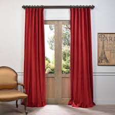 Red Curtains In Bedroom - red curtains u0026 drapes kitchen curtains bedroom curtains