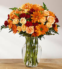 ftd golden autumn bouquet deluxe fall thanksgiving flowers