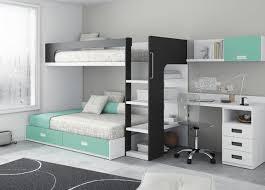 chambre avec lit superposé touch 66 lit superposé et bureau deco montagne et bricolage