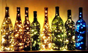 this is a lovely way to upcycle an empty wine bottle perfect for