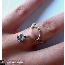 new engagement rings images New engagement ring trend diamond finger piercings rings jpg