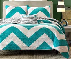 Turquoise Chevron Bedding Nursery Beddings Teal And Black Chevron Bedding Together With