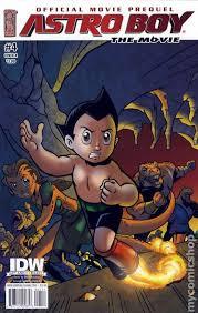 astro boy movie prequel 2009 idw comic books