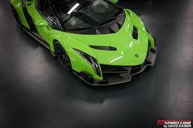 Lamborghini Veneno Features - meet the last lamborghini veneno roadster chassis 9 in verde