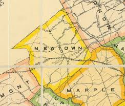 State College Pa Map by Maps Newtown Square Historical Society
