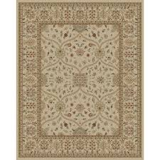 Lowes Area Rugs 9x12 Shop Style Selections Hangsinger Ivory Rectangular Indoor Machine