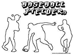 sporty coloring pages to print baseball baseball sports free