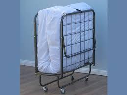 zuri single fold up metal bed frame