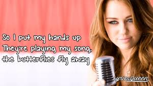 miley cyrus party in the usa lyrics hd youtube