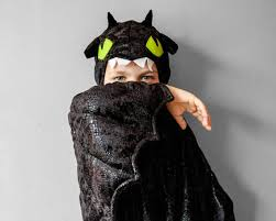 Toothless Costume Toothless Costume Black Dragon Children Costume Party