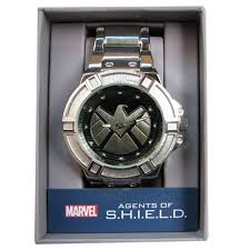 metal bracelet watches images Agents of shield silver watch with silver metal bracelet jpg