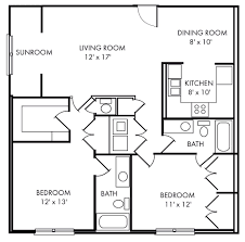 Floor Plans With Dimensions Charleston Sc Apartment Riverland Woods Floorplans