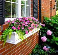 Planters That Hang On The Wall How To Hang Window Boxes The Right Way