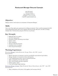 restaurant server resume restaurant resumes restaurant food server resume exles sle