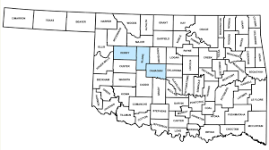 Map Of Oklahoma Counties Oklahoma Conservation Commission Carbon Pilot Program