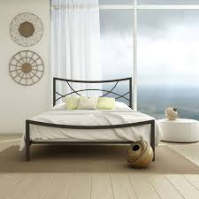 Metal Headboard And Footboard Queen Wonderful Bedroom Wrought Iron Headboard And Footboard Green White