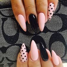 Black Manicure Designs 50 Beautiful Pink And Black Nail Designs 2017