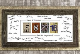 alternative guest book 29 unique wedding guest book alternatives the overwhelmed