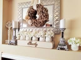 living room wall decor using mason jar on diy wooden vase flower