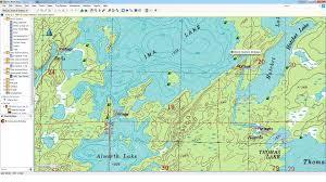 Boundary Waters Map Bwca Birdseye Topo Maps Boundary Waters Private Group Forum Gps