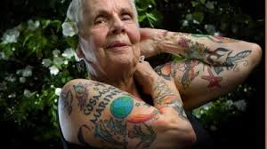 what will your tattoos look like when you u0027re old