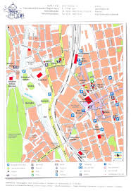 Lubeck Germany Map by Guide To Bach Tour Gera Maps
