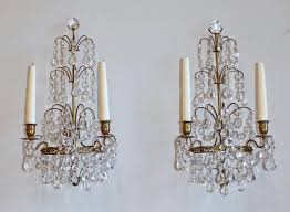 Silver Wall Sconce Candle Holder Crystal Candle Holder Wall Thesecretconsul Com