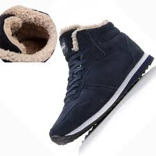 new couple unisex super warm man boot fashion men loves winter