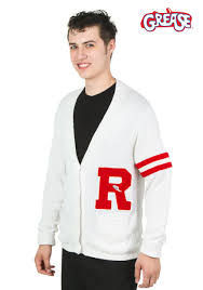 authentic halloween costumes for adults grease rydell high men u0027s letter sweater costumes grease