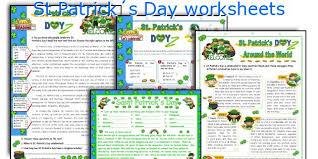 english teaching worksheets st patrick s day