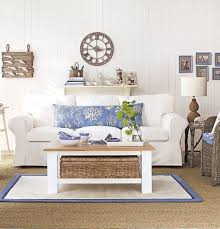 soft blue u0026 white decor ideas to turn your living room into a