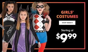 girls costumes girls halloween costumes party city