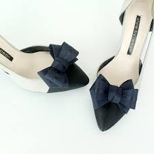 wedding shoes navy ribbon navy bridal shoe shoe wedding bridal
