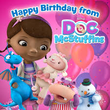 doc mcstuffins party ideas doc mcstuffins happy birthday cards