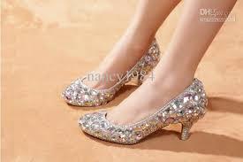 wedding shoes glitter wedding sparkly glitter high heels for prom rhinestone wedding