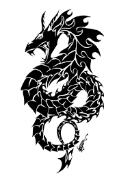awesome tribal dragon tattoo designs dragons tattoo and tribal