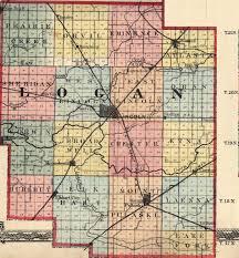 Map Of Logan Utah by Logan County Illinois Maps And Gazetteers