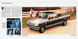 Old Ford Truck Brochures - ford pickup 1988