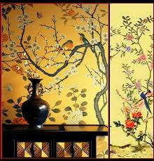 Wallpaper With Birds Chinoiserie Wallpaper With Birds Chinoiserie Wallpaper Nsr