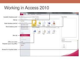 chapter 4 microsoft access 2010