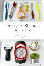 a couple of days ago i posted our montessori kitchen setup and
