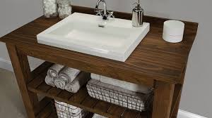 the rustic bathroom vanity buildsomething within rustic bathroom vanity plans remodel 585x329 jpg