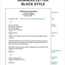 Block Style Letter Format Sample by Great Block Style Business Letter Format U2013 Letter Format Writing