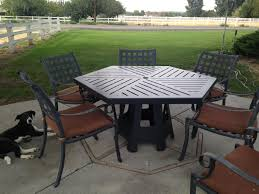 Hexagon Patio Table Hexagon Patio Table Luxury Hexagon Outdoor Table Mauriciohm