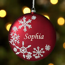 christmas personalized personalized christmas ornaments for kids at personal creations