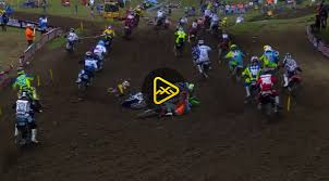 pro motocross live timing motoxaddicts 250mx first turn pileup u2013 2017 tennessee national